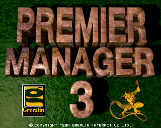 Premier Manager 3 screenshot