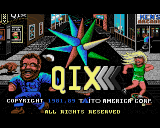 Qix screenshot