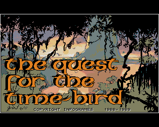Quest for the Time-Bird, The screenshot