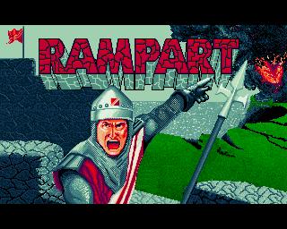 Rampart - Lemon Amiga