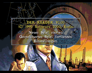 Reeder, Der, Der Reeder - Amiga Game / Games - Download ADF