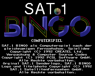 Sat.1 Bingo screenshot