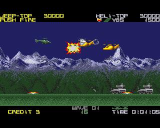 Silk Worm - Amiga Game Review, Games Reviews - Lemon Amiga
