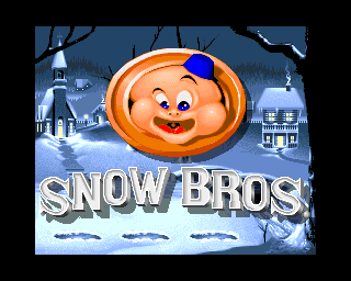 Snow Bros. screenshot