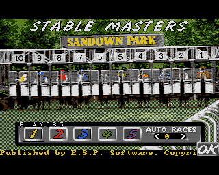 Stable Masters - Amiga Game / Games - Download ADF, Cheat