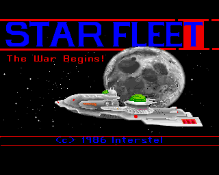 Star Fleet I: The War Begins! screenshot
