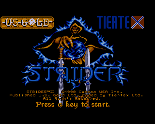 Strider II screenshot