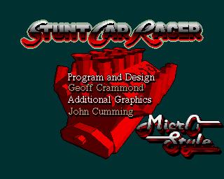 Stunt Car Racer - Lemon Amiga