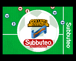 Subbuteo: The Computer Game screenshot