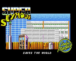 Super Seymour Saves the World - Lemon Amiga