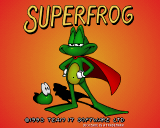 Superfrog, Super Frog - Amiga Game / Games - Download ADF
