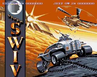 SWIV, S W I V  - Amiga Game / Games - Download ADF, Music