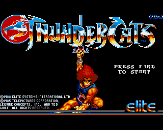 Thundercats  on Thundercats  Thunder Cats   Amiga Game   Games   Download Adf  Review