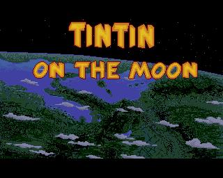 Tintin on the Moon - Lemon Amiga