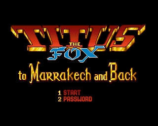 Titus the Fox: To Marrakech and Back screenshot