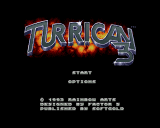 Turrican 3 screenshot