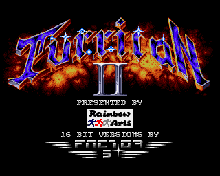 Turrican II: The Final Fight screenshot