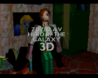 Zdzislav: Hero of the Galaxy 3D screenshot