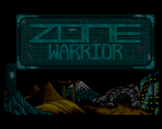 Zone Warrior screenshot