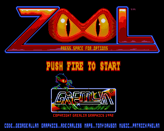 Zool: Ninja of the ''Nth'' Dimension screenshot