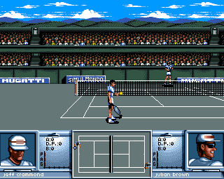 3D World Tennis