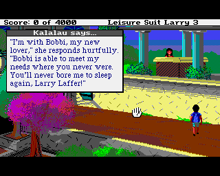 Leisure Suit Larry 3: Passionate Patti in Pursuit of the Pulsating Pectorals!