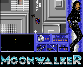 Moonwalker: The Computer Game