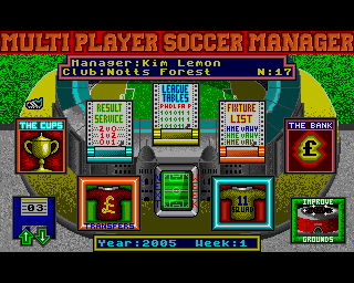 Multi Player Soccer Manager