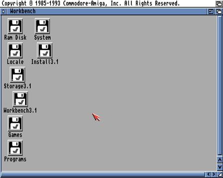 Install Amiga Workbench Tutorial - Lemon Amiga